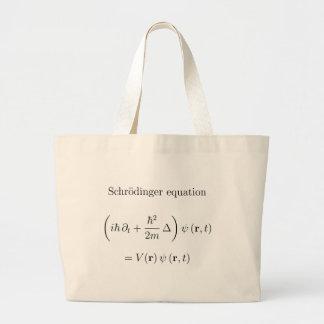 Schrodinger equation with name tote bag