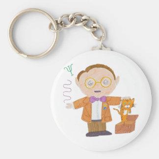 Schrödinger Basic Round Button Key Ring
