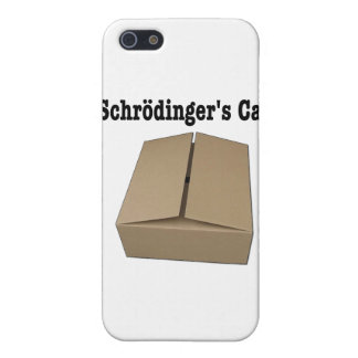 Schrodinger s Cat Box iPhone 5 Covers
