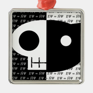 Schrödinger's Cat Christmas Ornament