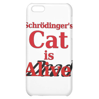 Schrodinger s Cat is Alive Dead Cover For iPhone 5C