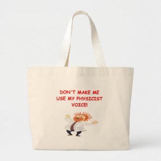 schrodinger s cat joke canvas bags