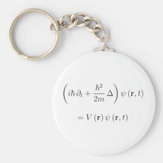 Schrodinger wave equation key ring