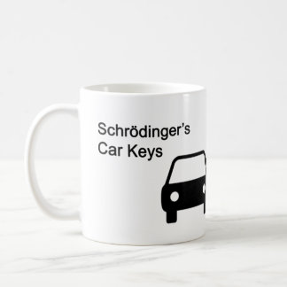 Schrodinger's Car Keys Coffee Mug