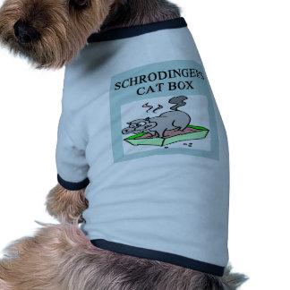 schrodinger's cat box doggie tshirt