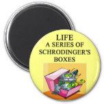 schrodinger's cat box joke magnets