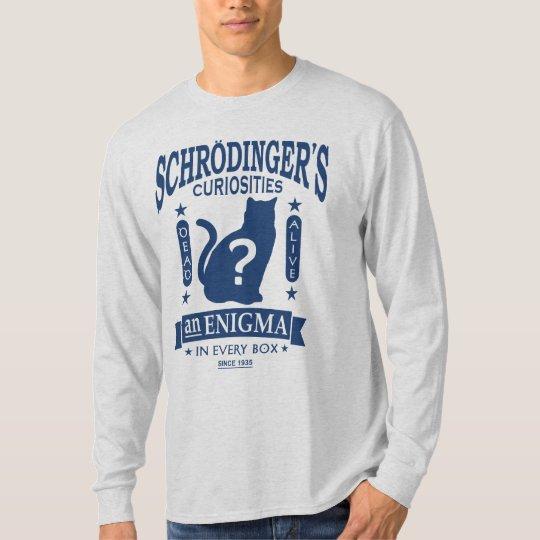 Schrodinger's Cat Dead or Alive Quantum Mechanics T-Shirt