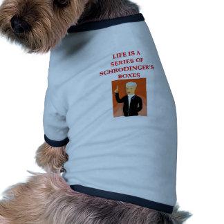 schrodinger's cat doggie tshirt