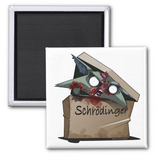 Schrödinger's Cat Solution Magnet