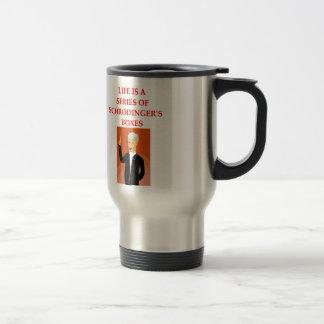 schrodinger's cat stainless steel travel mug