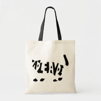 Schrödinger's cat canvas bags