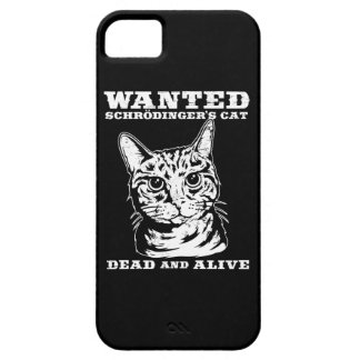 Schrodinger's cat wanted dead or alive iPhone 5 case