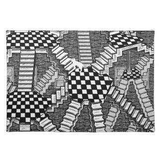 schrodinger's cat's dreams place mat