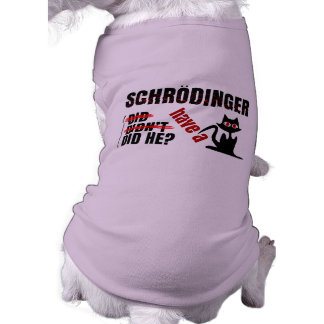 Schrodinger's Dillema Pet T-shirt