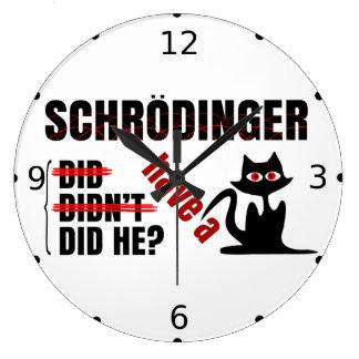 Schrodinger's Dillema Large Clock