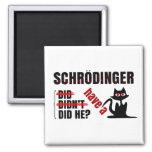 Schrodinger's Dillema Square Magnet