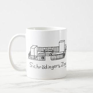 Schrodinger's Zoo Basic White Mug