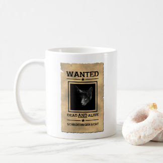 Schroedinger's Cat Wanted Poster Mug