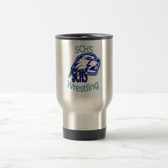 SCHS Wrestling Travel Mug
