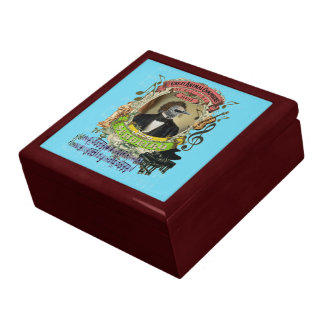 Schubert Bird Animal Composer Schubert Parody Fun Gift Box