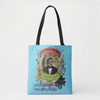 Schubird Bird Animal Composer Schubert Parody Tote Bag