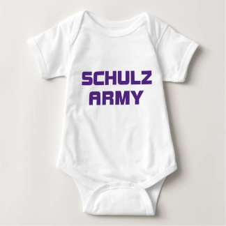 Schulz Army Infant Creeper