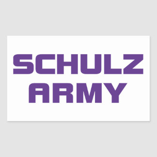 Schulz Army Sticker