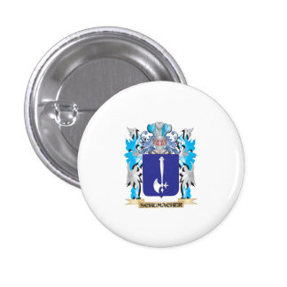 Schumacher Coat of Arms - Family Crest Pinback Buttons