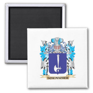 Schumacher Coat of Arms - Family Crest Square Magnet