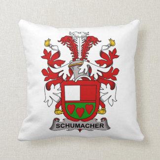 Schumacher Family Crest Throw Pillow