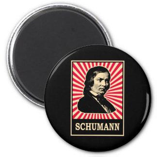 Schumann Refrigerator Magnet