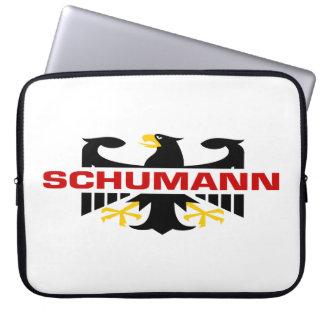 Schumann Surname Laptop Sleeve