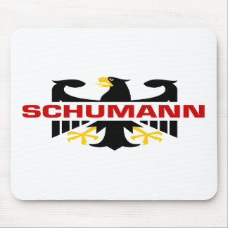 Schumann Surname Mouse Pads