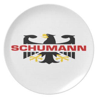 Schumann Surname Plates