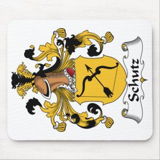 Schutz Family Crest Mouse Pad
