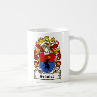Schutze Family Crest Classic White Coffee Mug
