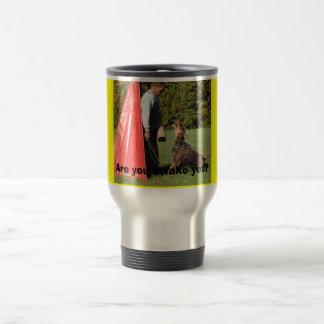 Schutzhund Bark and Hold - Customized Travel Mug