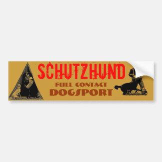 Schutzhund Bumper Sticker