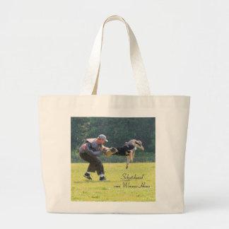Schutzhund - Customized Jumbo Tote Bag