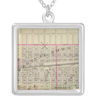 Schuyler and Leigh, Nebraska Silver Plated Necklace