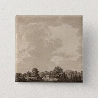 Schuylkill river 15 cm square badge