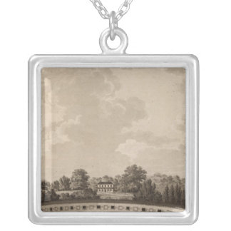 Schuylkill river silver plated necklace