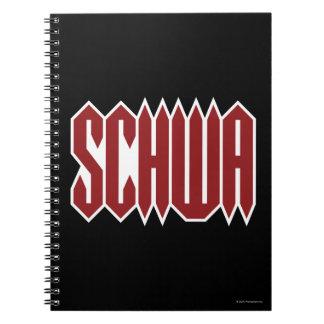 Schwa Spiral Notebook