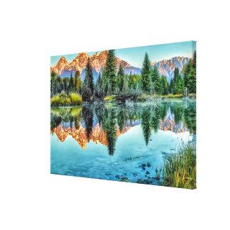 Schwabacher's Landing and Beaver Pond Canvas Print