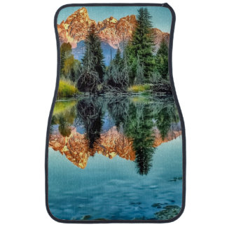 Schwabacher's Landing and Beaver Pond Car Mat