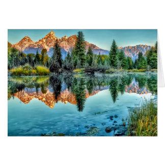 Schwabacher's Landing and Beaver Pond Card