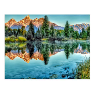 Schwabacher's Landing and Beaver Pond Postcard