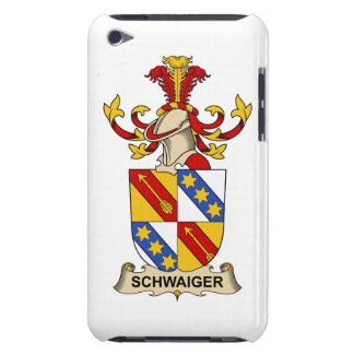 Schwaiger Family Crest Barely There iPod Case