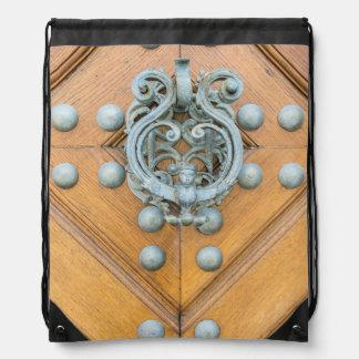 Schwarzenbersky Palace Door Knocker Drawstring Bag