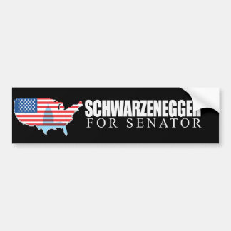 Schwarzenegger for Senator 2010 Bumper Sticker